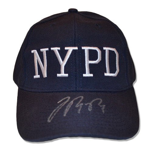 Photo of Jose Reyes #7 - Autographed Game Used Adjustable First Responder Hat - 9/11/18