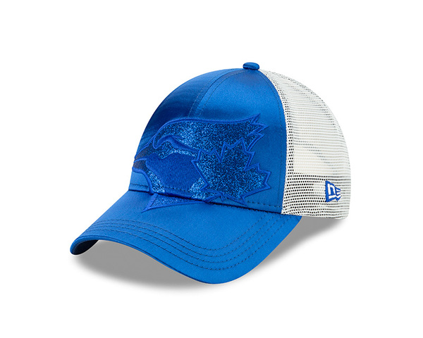 Toronto Blue Jays Women's Radiant Team Trucker Cap by New Era