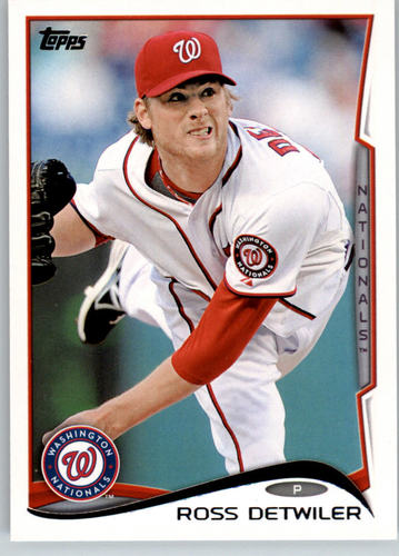 Photo of 2014 Topps #245 Ross Detwiler