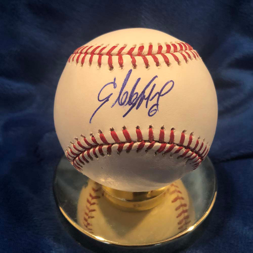 Photo of UMPS CARE AUCTION: Starling Marte Signed Baseball
