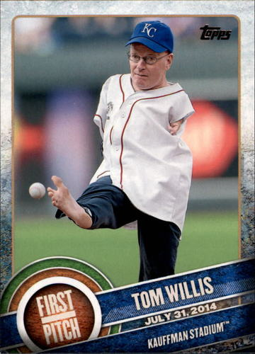 Photo of 2015 Topps First Pitch #FP09 Tom Willis