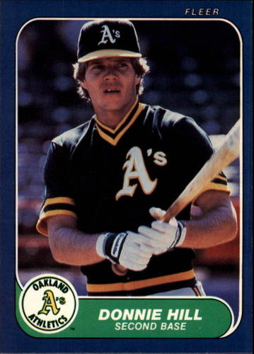 Photo of 1986 Fleer #420 Donnie Hill