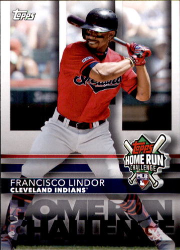 Photo of 2020 Topps Home Run Challenge Code Cards #HRC10 Francisco Lindor