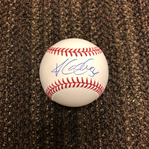 Photo of Kole Calhoun Autographed Baseball