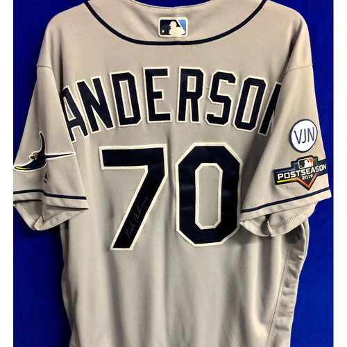 Photo of Team Issued Postseason Autographed Jersey: Nick Anderson