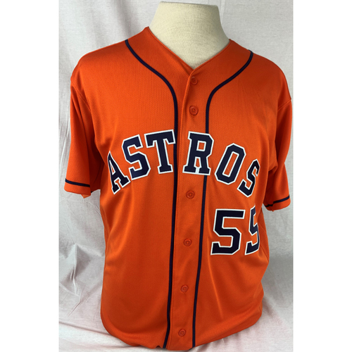 Photo of Ryan Pressly Game Used 2019 World Series Game 7 Jersey