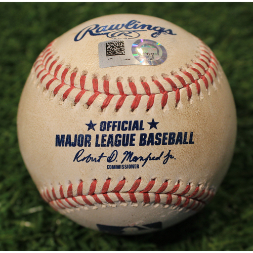 Photo of Game-Used Baseball: Carlos Rodon 569th Career Strikeout (CWS@KC 5/7/21)