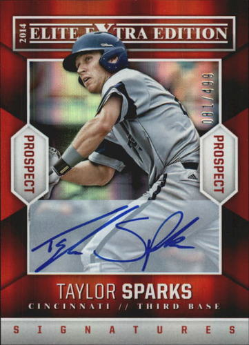 Photo of 2014 Elite Extra Edition Prospects Signatures #38 Taylor Sparks/499