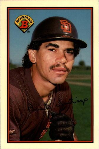 Photo of 1989 Bowman Tiffany #453 Benito Santiago