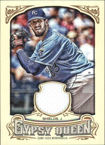 Photo of 2014 Topps Gypsy Queen Relics #GQRJSH James Shields