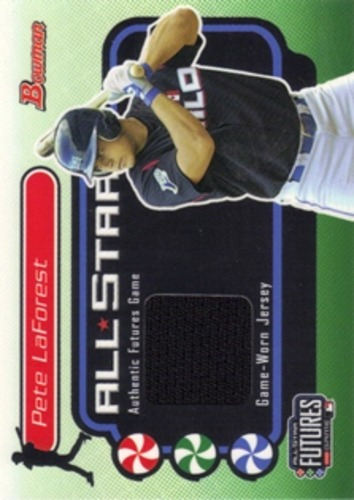 Photo of 2004 Bowman Futures Game Gear Jersey Relics #PL Pete LaForest B