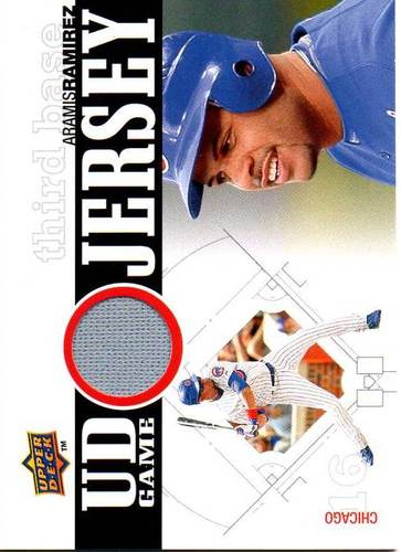 Photo of 2010 Upper Deck UD Game Jersey #AR Aramis Ramirez