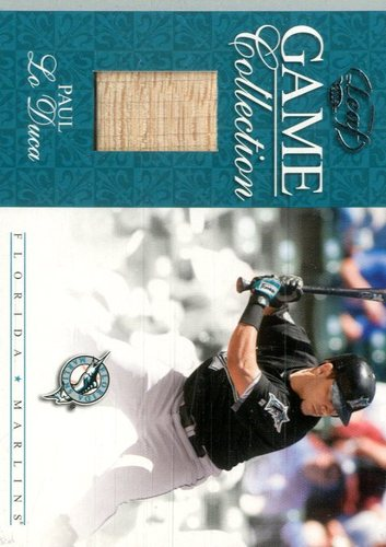 Photo of 2005 Leaf Game Collection #13 Paul Lo Duca Bat