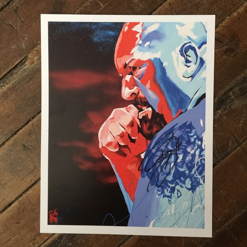 The Big Show SIGNED 11 x 14 Rob Schamberger Print
