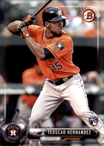 Photo of 2017 Bowman #26 Teoscar Hernandez Rookie Card