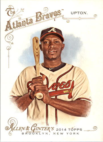 Photo of 2014 Topps Allen and Ginter #207 Justin Upton