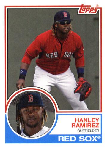 Photo of 2015 Topps Archives #281 Hanley Ramirez -- Red Sox post-season