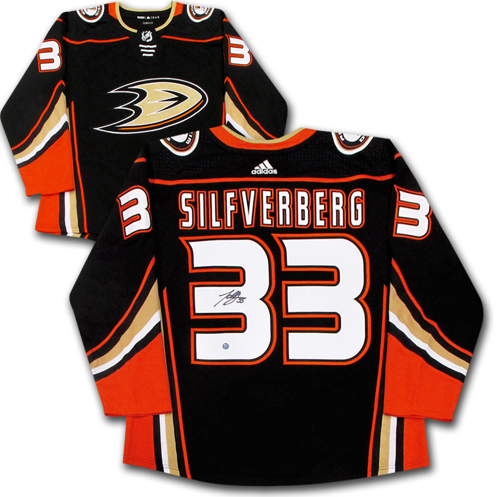 Jakob Silfverberg Autographed Anaheim Ducks adidas Pro Jersey