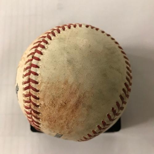 Photo of Giants Multi Hit Baseball - Posey Single, Belt Single, McCutchen Single - 5/6/18