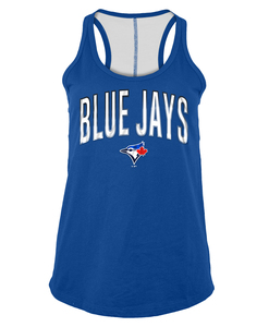 Toronto Blue Jays Women's Baby Jersey Tank by New Era