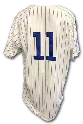 Photo of Yu Darvish Game-Used 1969 Uniform -- Reds vs. Cubs -- 7/16/19