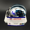 Panthers - DJ Moore Signed Mini Helmet