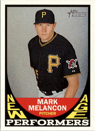 Photo of 2016 Topps Heritage New Age Performers #NAPMME Mark Melancon