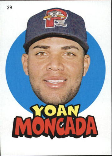 Photo of 2016 Topps Heritage Minors '67 Topps Stickers #29 Yoan Moncada