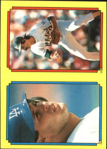 Photo of 1988 Topps Stickers #170 Dennis Eckersley(74)