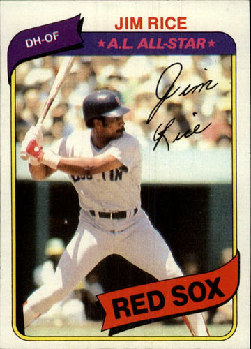 Photo of 1980 Topps #200 Jim Rice