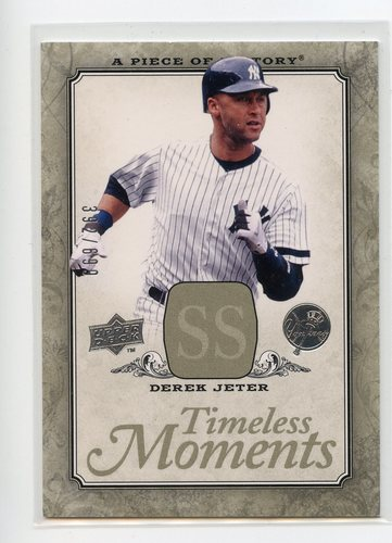 Photo of 2008 UD A Piece of History Timeless Moments #35 Derek Jeter