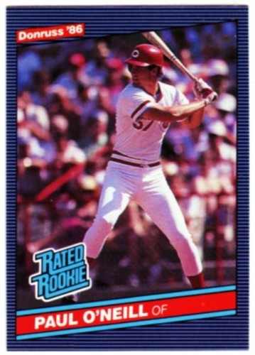 Photo of 1986 Donruss #37 Paul O'Neill RC