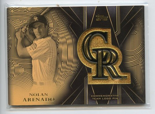 Photo of 2016 Topps Team Logo Pins #TLPNA Nolan Arenado