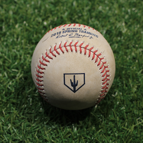 Photo of Game-Used Baseball: No Play (KC @ OMA 3/25/19)