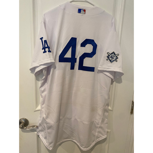 Photo of Luke Raley Game-Used Jackie Robinson Day Jersey - Size 48