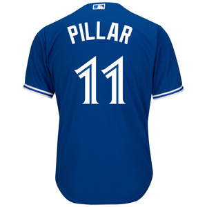 Toronto Blue Jays Cool Base Replica Kevin Pillar Alternate Jersey by Majestic