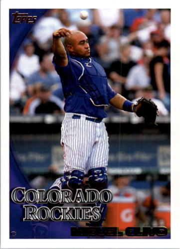 Photo of 2010 Topps #445 Miguel Olivo