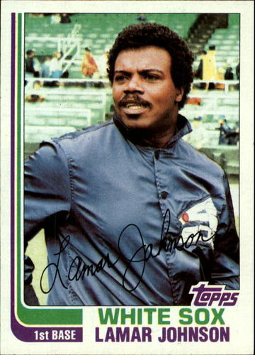 Photo of 1982 Topps #13 Lamar Johnson