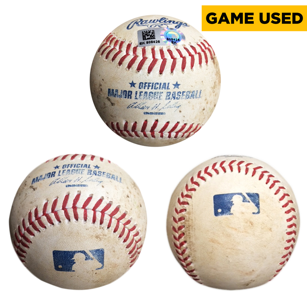 Andrew Cashner San Diego Padres Game-Used Pitched Baseball