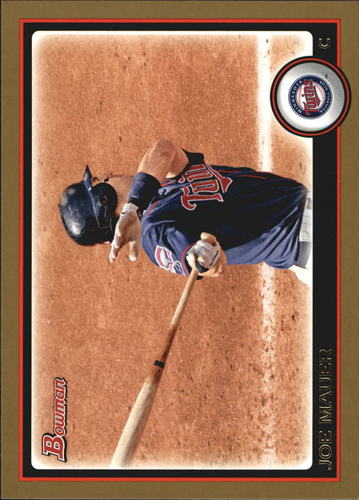 Photo of 2010 Bowman Gold #169 Joe Mauer