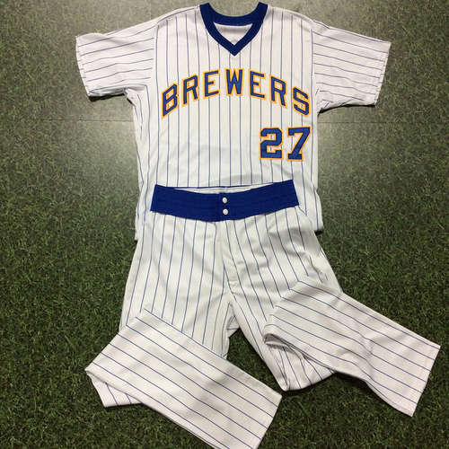 Zach Davies Game-Used 1982 Reunion Weekend Uniform