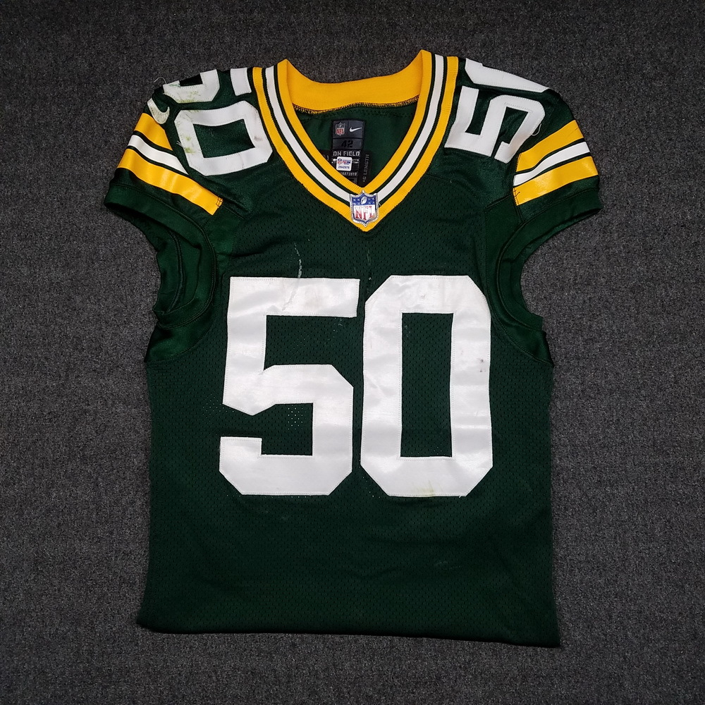 official photos 451cb e6737 NFL Auction | STS - PACKERS BLAKE MARTINEZ GAME WORN PACKERS ...
