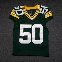 STS - PACKERS BLAKE MARTINEZ GAME WORN PACKERS JERSEY (NOVEMBER 6, 2017)