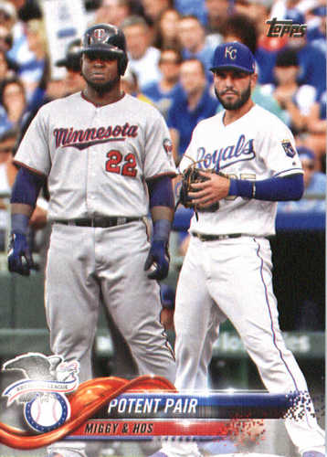 Photo of 2018 Topps #262 Potent Pair/Eric Hosmer/Miguel Sano