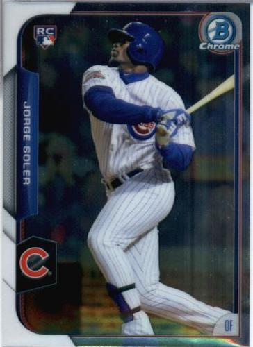 Photo of 2015 Bowman Chrome #171 Jorge Soler RC