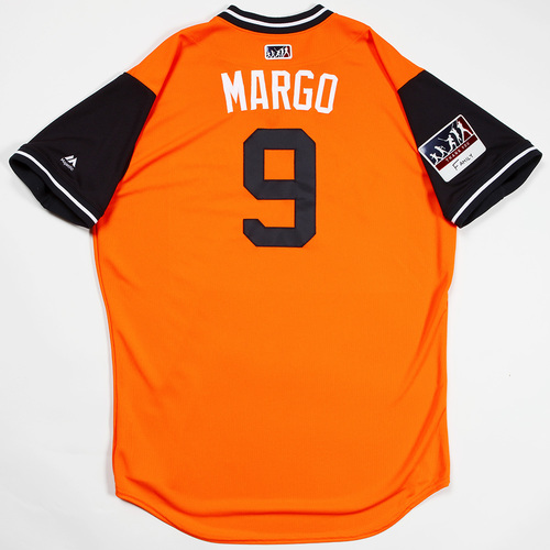 "Photo of Marwin ""Margo"" Gonzalez Houston Astros Team-Issued 2018 Players' Weekend Jersey"