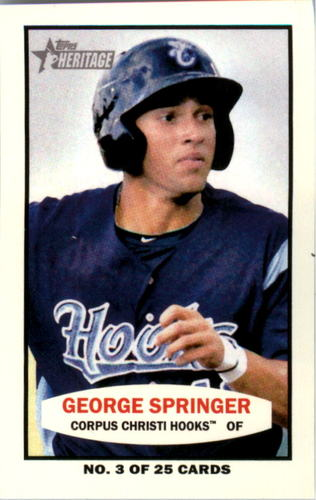 Photo of 2013 Topps Heritage Minors 1964 Bazooka #GS George Springer