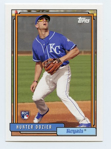 Photo of 2017 Topps Archives #291 Hunter Dozier RC