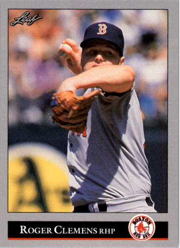 Photo of 1992 Leaf #19 Roger Clemens