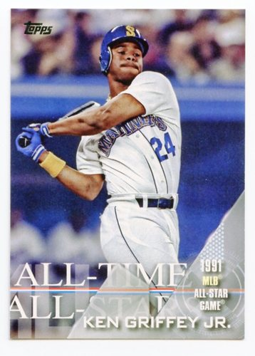 Photo of 2017 Topps All Time All Stars #ATAS12 Ken Griffey Jr.